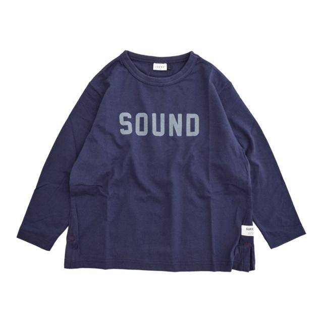 br-20aw-300266_NV SOUND ロングTシャツ [NV.ネイビー] 【Jeans-b】【秋冬物】