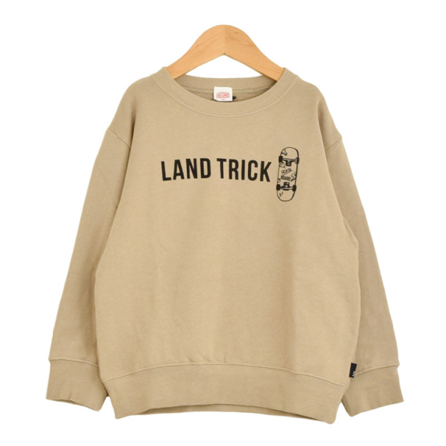 br-20aw-800363_BE LAND TRICK トレーナー [BE.ベージュ] 【Jeans-b 2nd】【秋冬物】