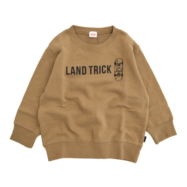 br-20aw-800363_BR LAND TRICK トレーナー [BR.ブラウン] 【Jeans-b 2nd】【秋冬物】