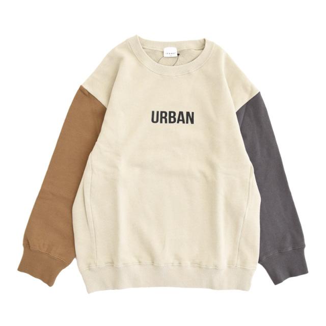br-21aw-310366_SD URBAN ビッグトレーナー [SD.サンドベージュ] 【Jeans-b】【21年秋冬物】