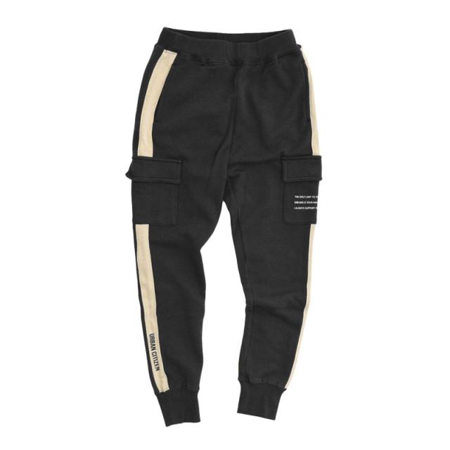 br-21aw-311161_BK ロング ラインカーゴパンツ [BK.ブラック] 【Jeans-b】【21年秋冬物】