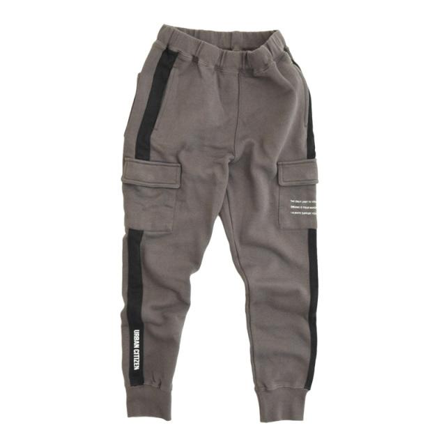 br-21aw-311161_CG ロング ラインカーゴパンツ [CG.チャコールグレー] 【Jeans-b】【21年秋冬物】