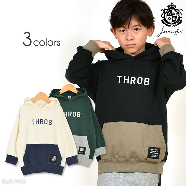 br-19aw-390461 JEANS-b THROB パーカー【ジーンズベー】【秋冬】【アメカジ】