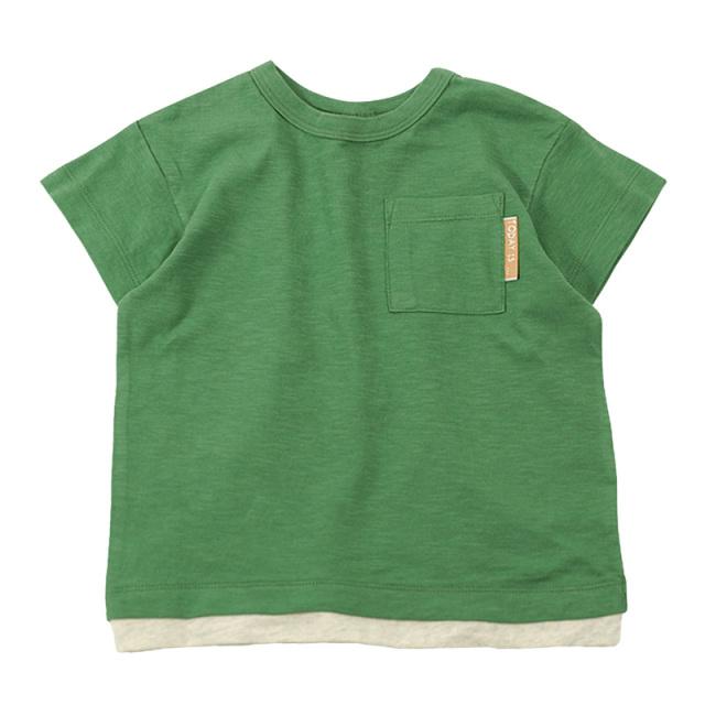 dil-DL20ES021_GN スラブ天竺 半袖Tシャツ [GN.グリーン] 【DILASH】【夏物】