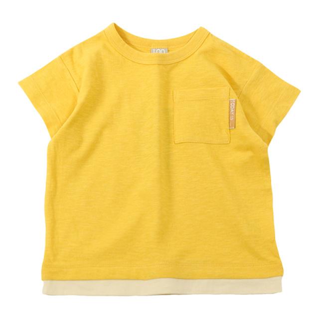 dil-DL20ES021_YE スラブ天竺 半袖Tシャツ [YE.イエロー] 【DILASH】【夏物】