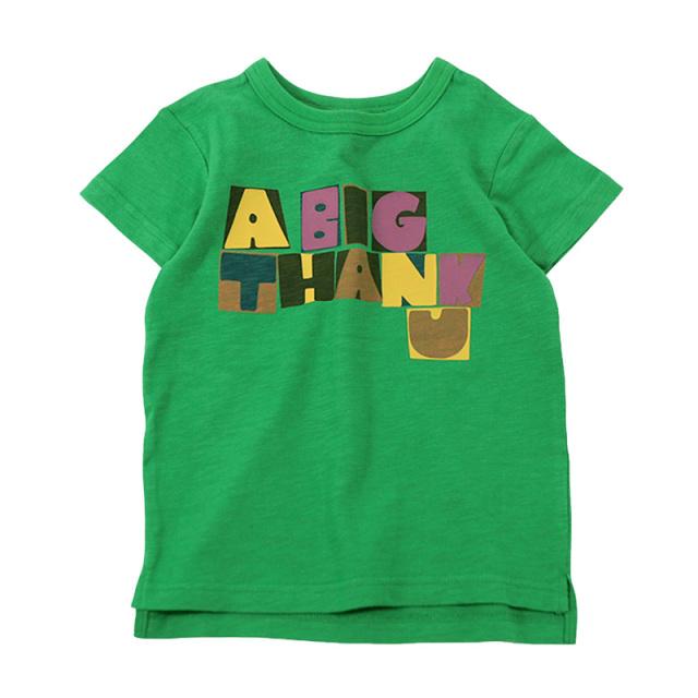 dil-DL20ES025_GN THANK U 半袖Tシャツ [GN.グリーン] 【DILASH】【夏物】