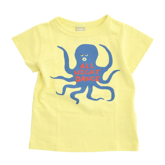 dil-DL20ES026_YE ダンスオクトパス 半袖Tシャツ [YE.イエロー] 【DILASH】【夏物】