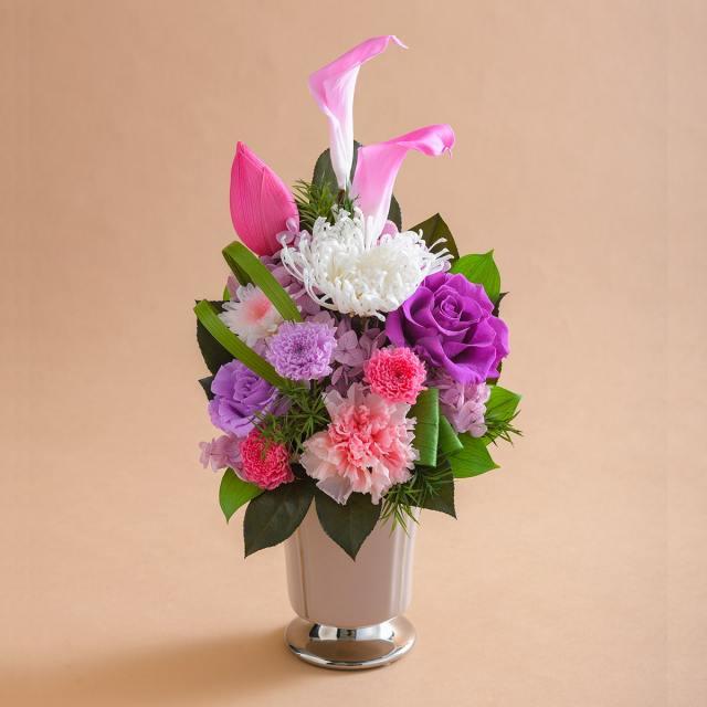 プリザーブドフラワー 仏花 お供え花  #カラハス ◇ 送料無料