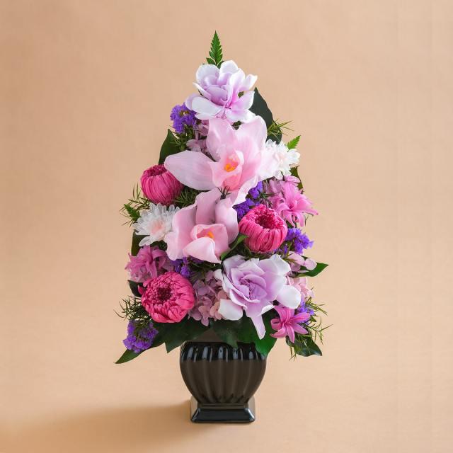 プリザーブドフラワー 仏花 お供え花  #スカラ ◇ 送料無料 【出荷:3営業日】