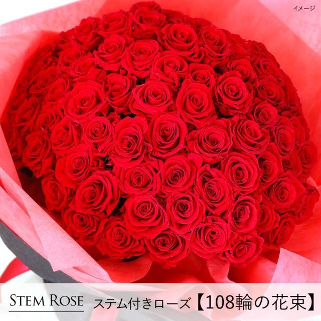 プリザーブドフラワー #ステム付きローズ【108輪の花束】「なでしこJAPAN」にカズが贈ったバラ | プロポーズ