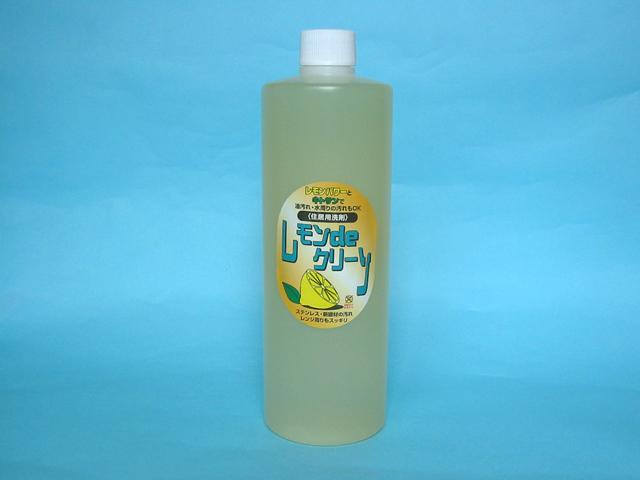 弱酸性マイルドな住居用洗剤レモンdeクリーン