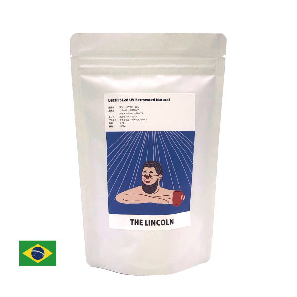 SUZUKI COFFEE 鈴木コーヒー 数量限定[ THE LINCOLN ]3月のNewCrop ブラジル サントゥアリオスル SL28 ナチュラルファーメンテッド