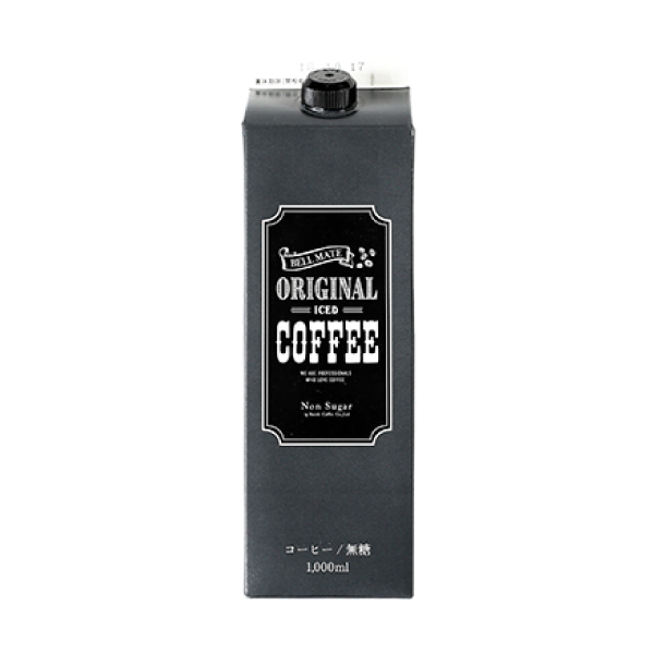 SUZUKI COFFEE 鈴木コーヒー 鈴木コーヒーオリジナルアイスコーヒー無糖 [ORIGINAL ICE COFFEE LIQUID] 1,000ml1