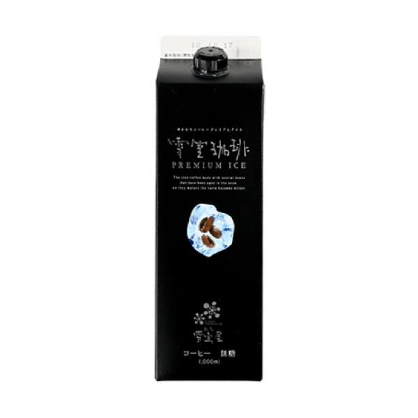 SUZUKI COFFEE 鈴木コーヒー 雪室珈琲プレミアムアイス無糖 [YUKIMURO PREMIUM ICE COFFEE LIQUID] 1,000ml1