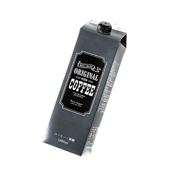 SUZUKI COFFEE 鈴木コーヒー 鈴木コーヒーオリジナルアイスコーヒー無糖 [ORIGINAL ICE COFFEE LIQUID] 1,000ml2