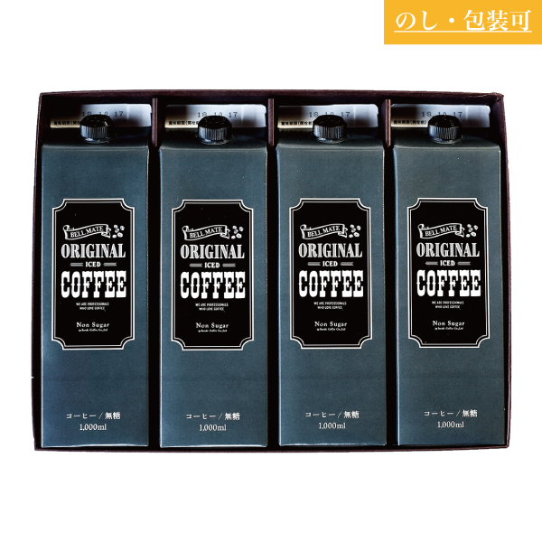 SUZUKI COFFEE 鈴木コーヒー ORIGINAL ICED COFFEE LIQUID 4 [SLC-20]