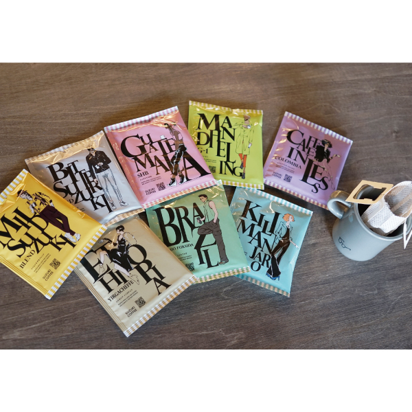 SUZUKI COFFEE 鈴木コーヒー お得なセット!! [Familyパック 24P] CLASSICS DRIP BAG COFFEE2