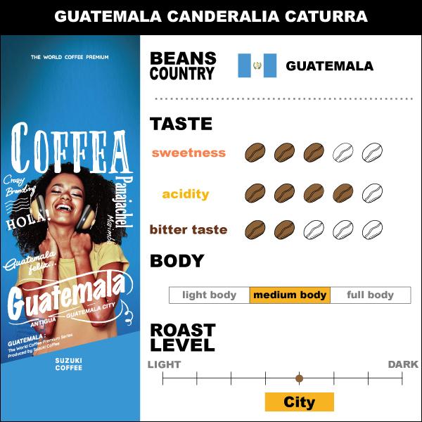 SUZUKI COFFEE 鈴木コーヒー グァテマラ カンデラリア
