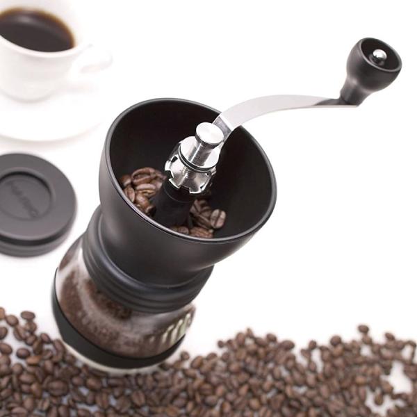 SUZUKI COFFEE 鈴木コーヒー HARIO(ハリオ)手挽きコーヒーミル「セラミックコーヒーミル・スケルトン」MSCS-2B2