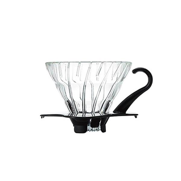 SUZUKI COFFEE 鈴木コーヒー HARIO V60耐熱ガラス透過ドリッパー01ブラック [VDG-01B]