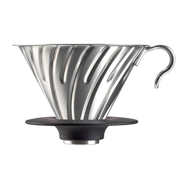 SUZUKI COFFEE 鈴木コーヒー HARIO V60メタルドリッパーシルバー [VDM-02HSV]