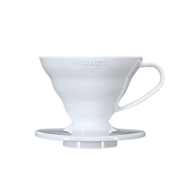 SUZUKI COFFEE 鈴木コーヒー HARIO V60透過ドリッパー01ホワイト [VD-01W]