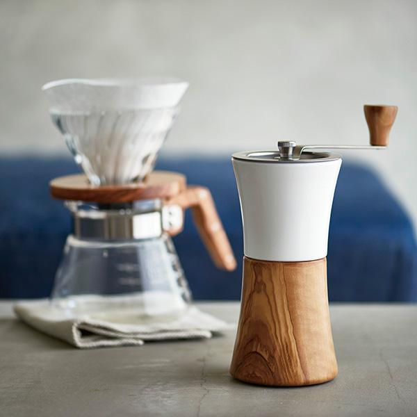 SUZUKI COFFEE 鈴木コーヒー HARIO セラミックコーヒーミル・ウッド [MCW-2-OV]2