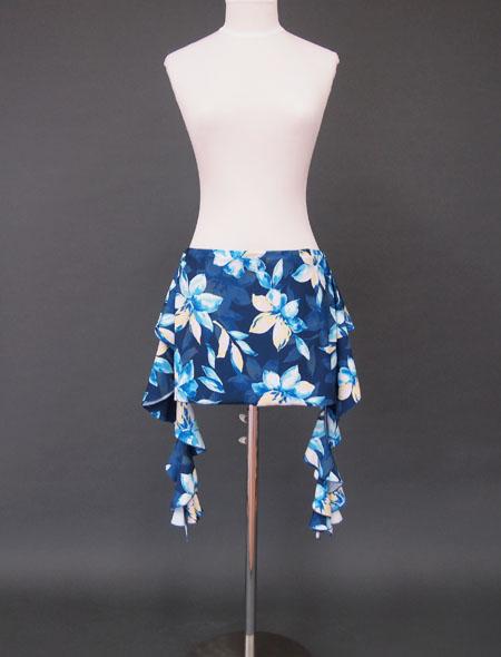 紺花ヒップスカーフ1 ミラーナ