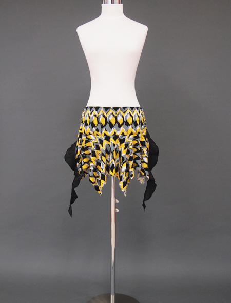 エキセントリックヒップスカーフ1 ミラーナベリーダンス衣装