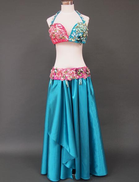 ターコイズベリーダンス衣装1