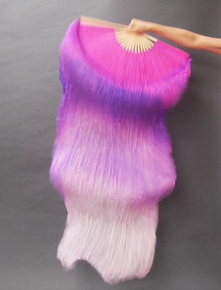 ファンベール 紫白 ミラーナベリーダンス衣装
