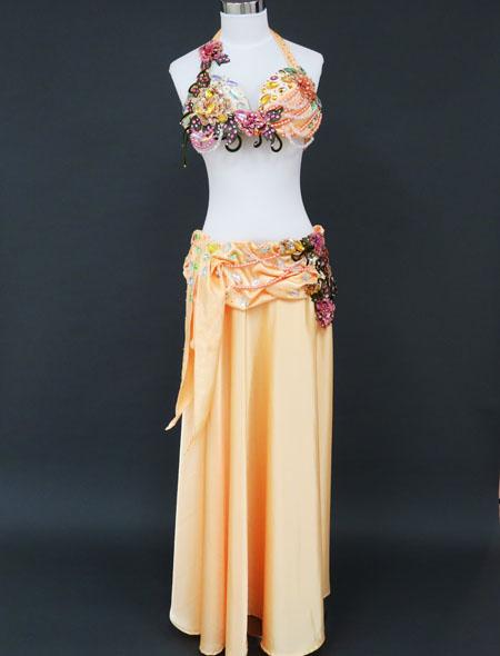 太陽オレンジ衣装