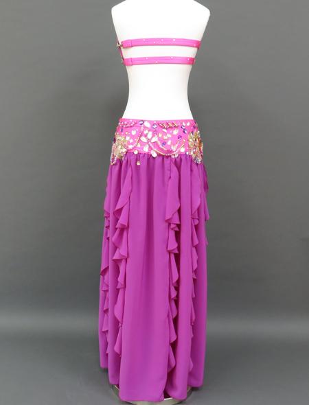 ピンクパープル衣装