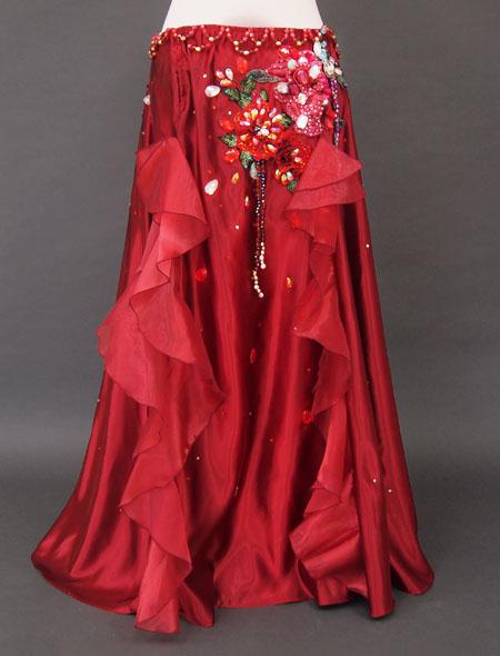 赤×薔薇フリルベリーダンス衣装3 ミラーナ