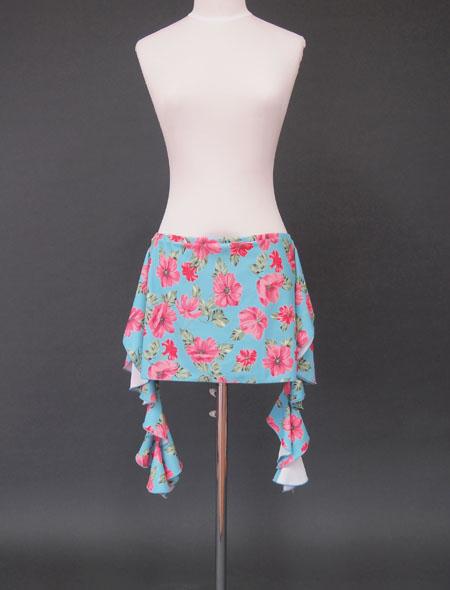 青花柄ヒップスカーフ1 ミラーナ