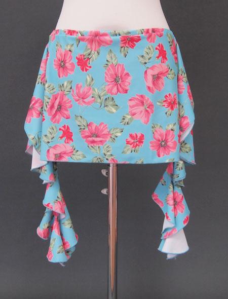 青花柄ヒップスカーフ2 ミラーナ