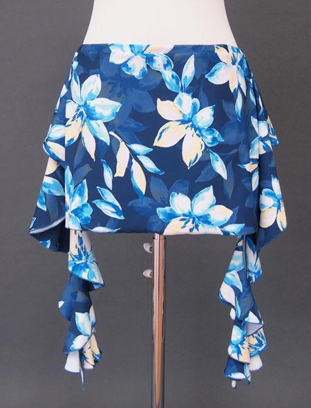 紺花ヒップスカーフ2 ミラーナ