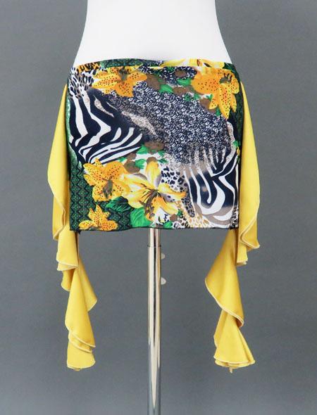 黄色ヒップスカーフ2 ミラーナ