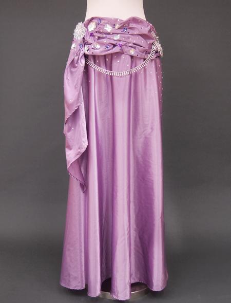 ピンクパープルベリーダンス衣装3 ミラーナ
