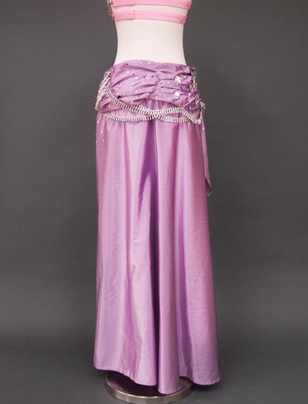 ピンクパープルベリーダンス衣装6 ミラーナ