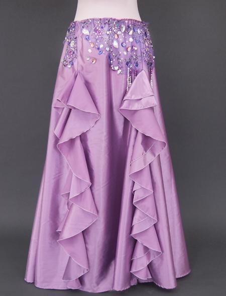 ピンクパープル ベリーダンス衣装3 ミラーナ