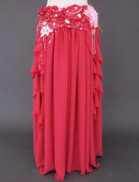 ピンクコサージュ ベリーダンス衣装3 ミラーナ