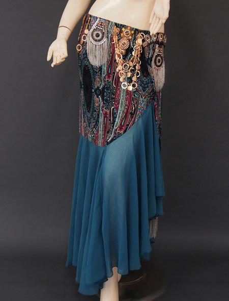 トライバル3 ミラーナベリーダンス衣装