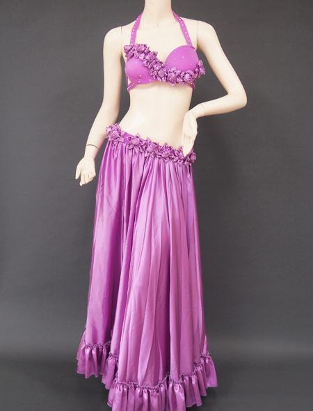 パープル薔薇6 ミラーナベリーダンス衣装