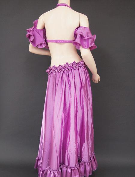 パープル薔薇5 ミラーナベリーダンス衣装