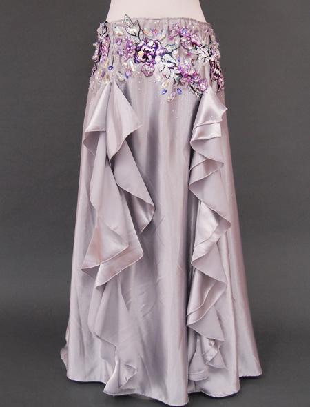 シルバーベリーダンス衣装 スカート