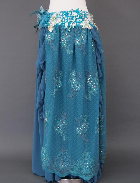 グリーンレース3 ミラーナベリーダンス衣装