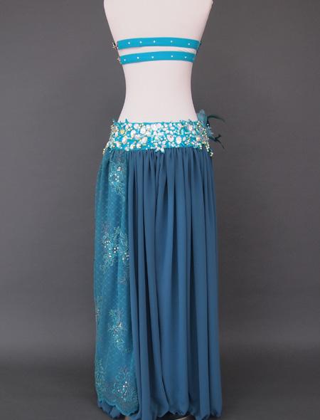 グリーンレース5 ミラーナベリーダンス衣装