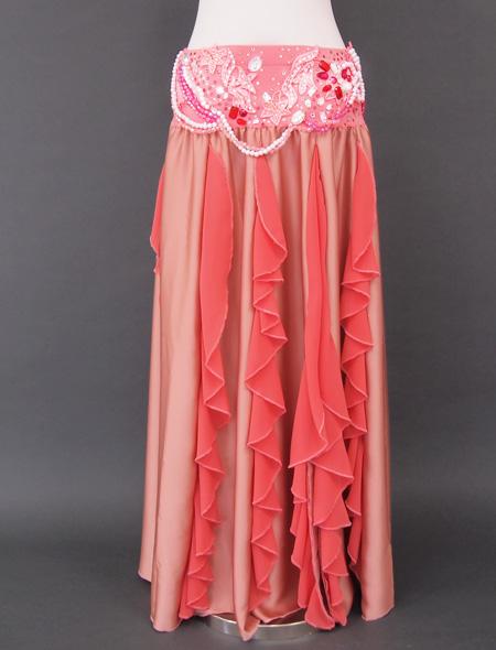 シャンパーニュピンク衣装3 ミラーナベリーダンス衣装