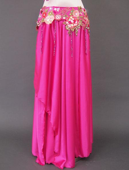 ピンク花ベリーダンス衣装3 MiLLANA